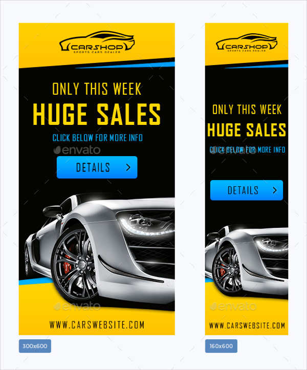 car sales advertising banner1