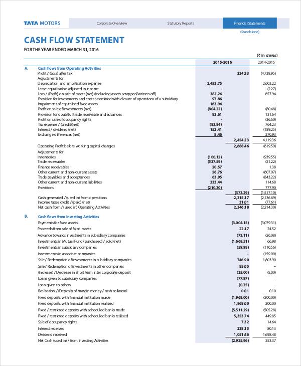 cash flow statement format1