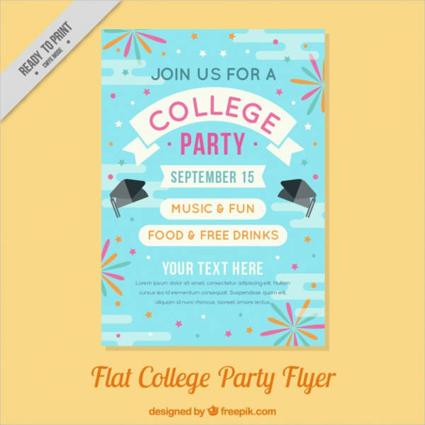 college event poster