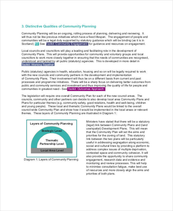 community project action plan