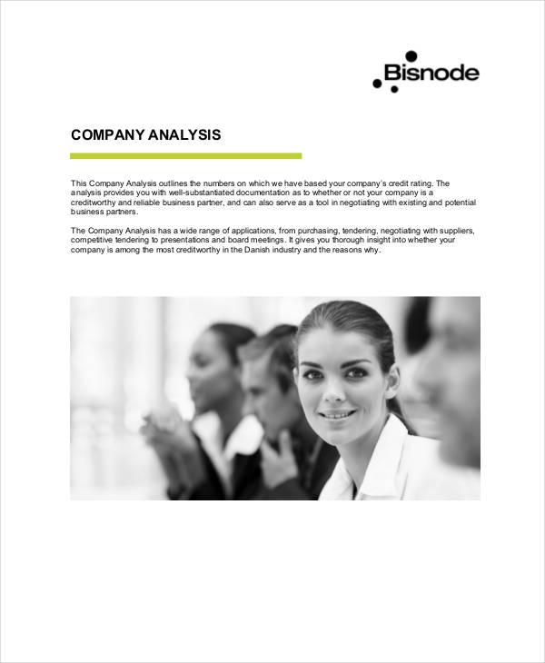 company analysis1