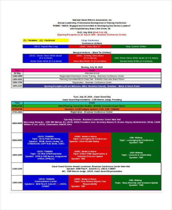 conference agenda1