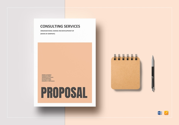 consulting proposal template