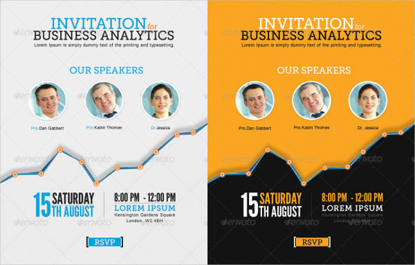 -Corporate Business Invitation