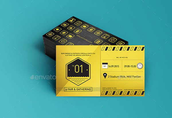 33 Examples of Invitation Design PSD AI Vector EPS