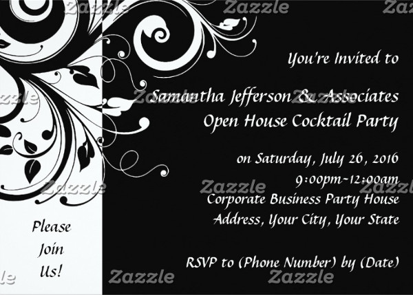 -Corporate Party Invitation