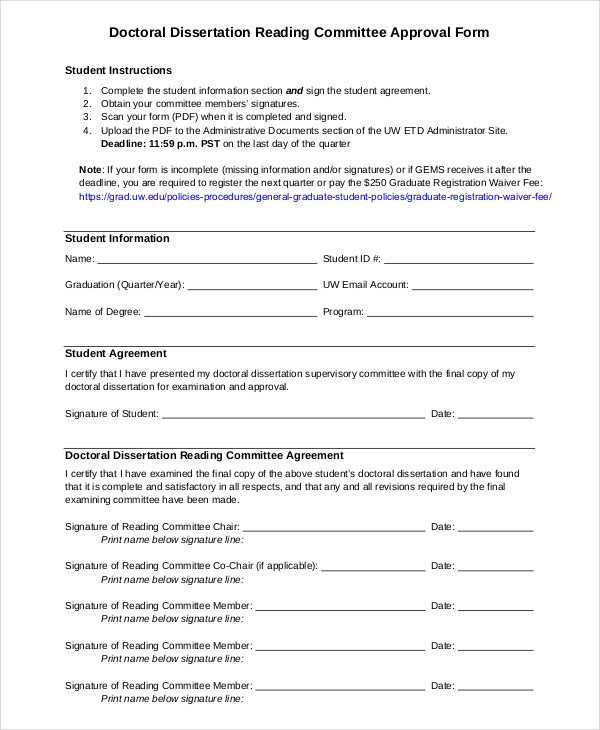 uvic thesis approval form