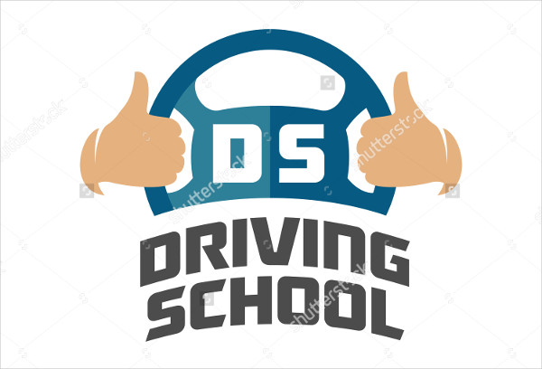 -Driving School Logo