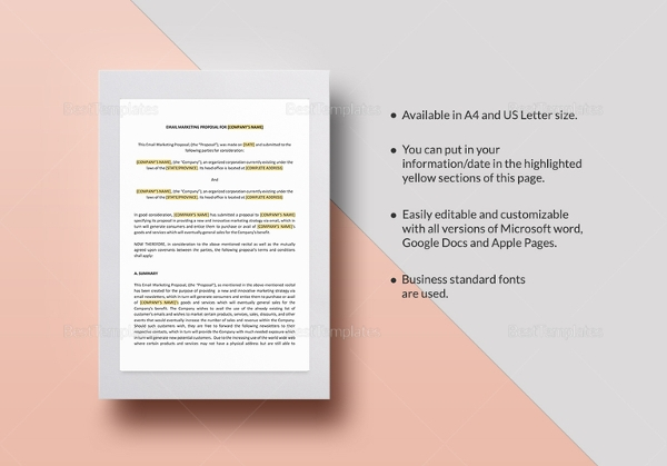 email marketing proposal template1