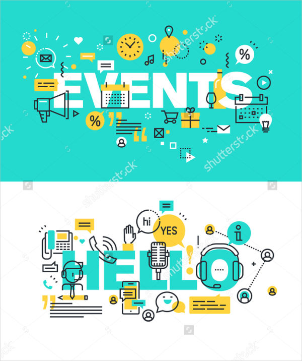 event planning advertising banner