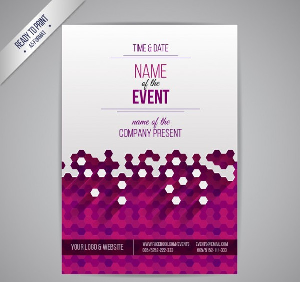 event poster vector