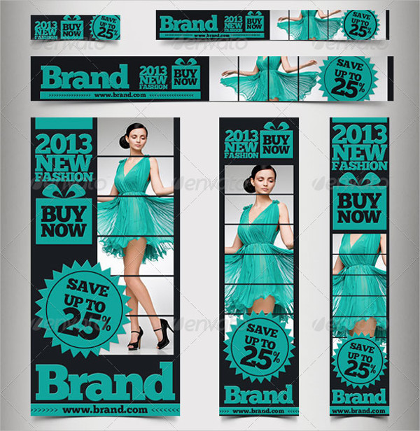 fashion advertising banner