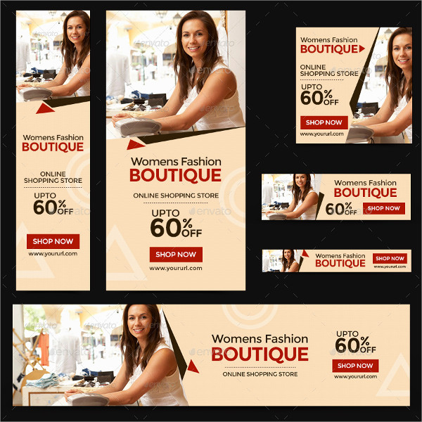 Fashion Boutique Banner