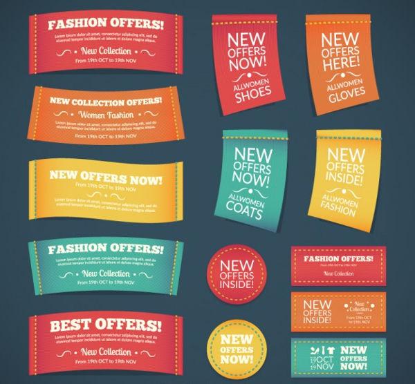 fashion collection label design