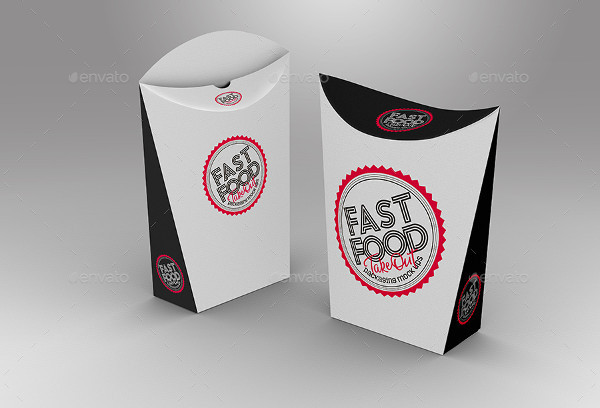 fast food product packaging