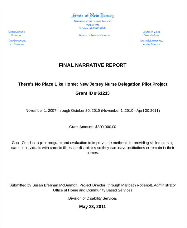 final narrative report1