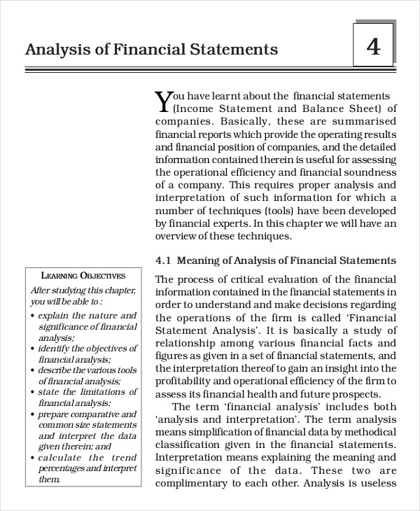 financial statement2