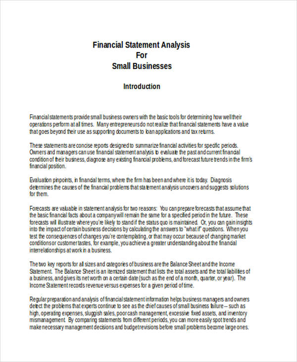 financial statement3