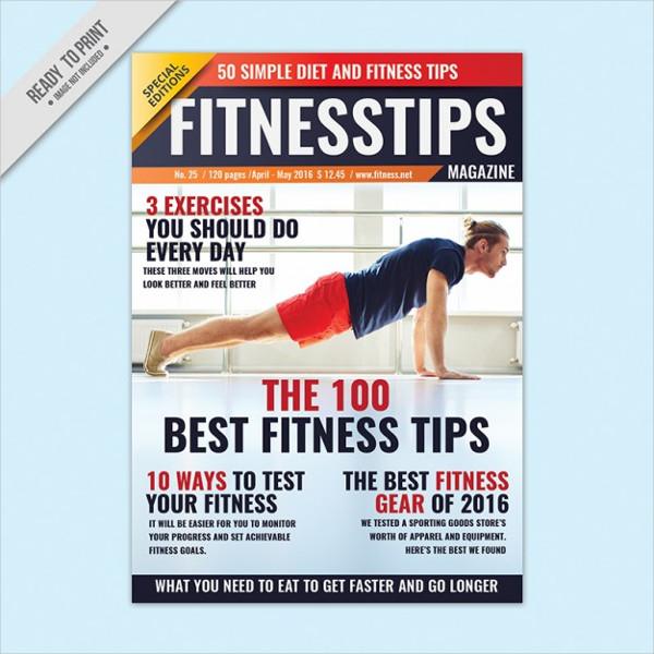 fitness advice brochure