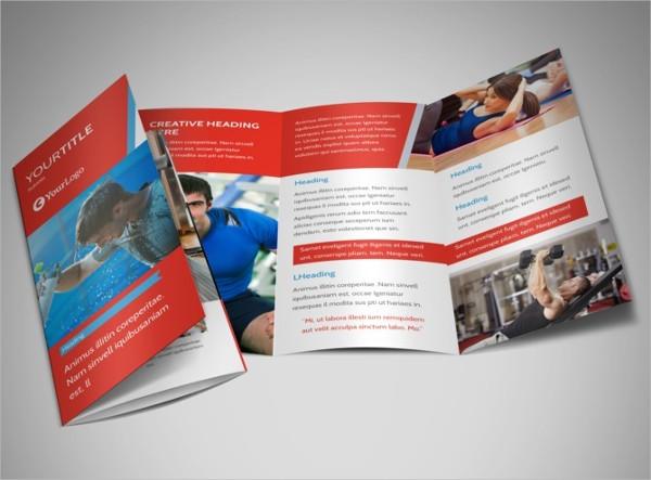 fitness center brochure