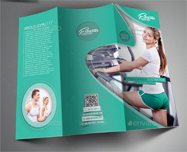 21  examples of fitness brochure design