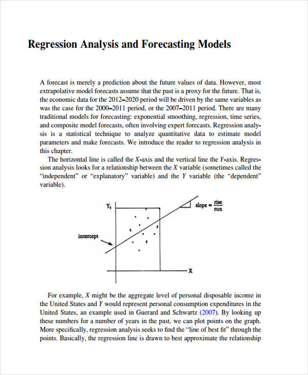 forecasting regression