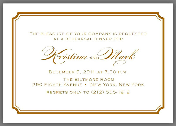 Formal Dinner Invitation Letter Wording | Infoinvitation.co