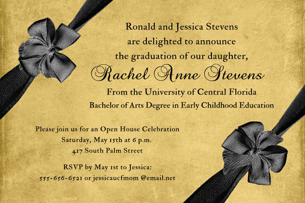 -Formal Open House Invitation