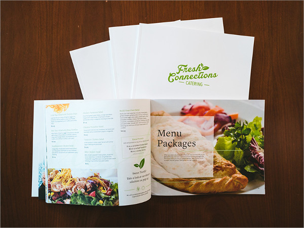 Free Catering Menu Design