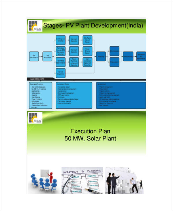 free project execution plan