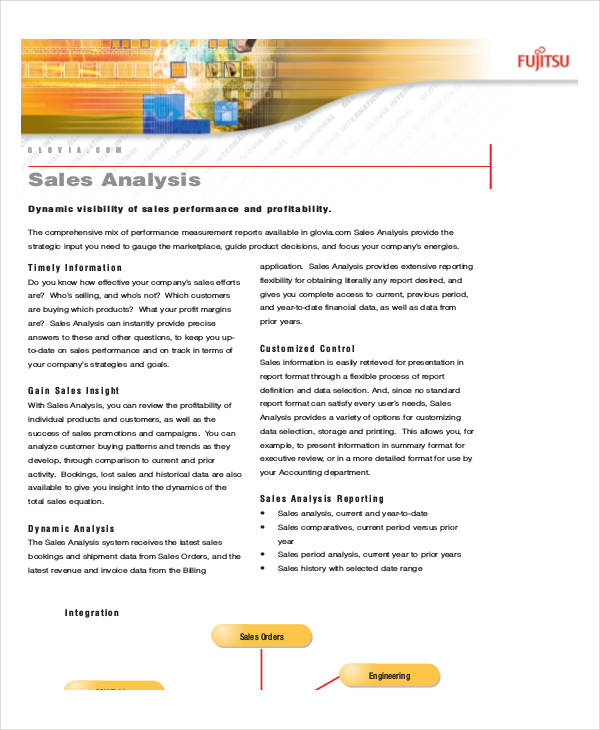 free sales analysis