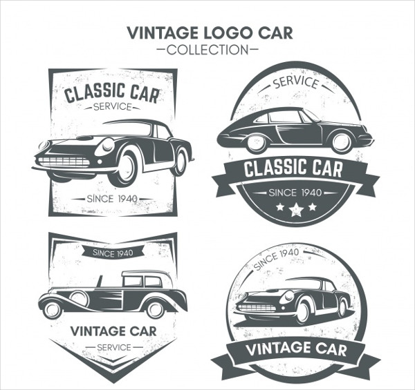 free vintage business logo