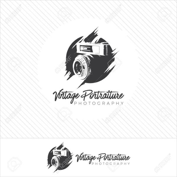 free vintage photography logo