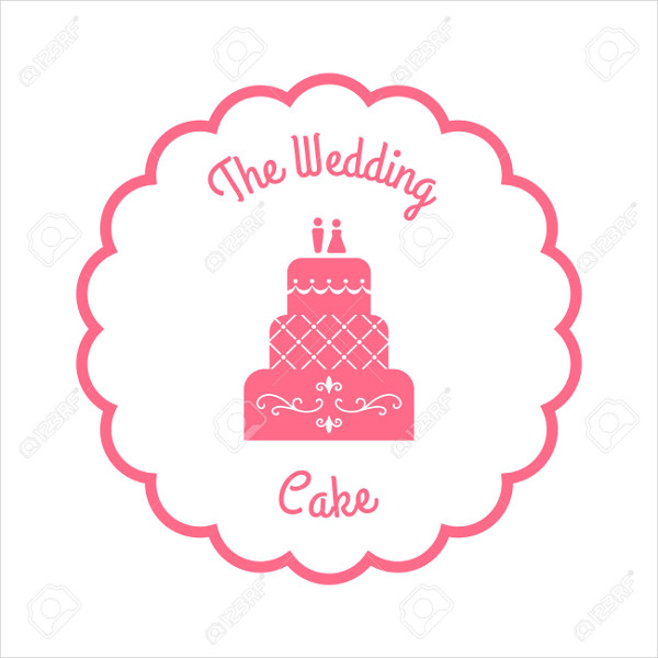free wedding cake logo