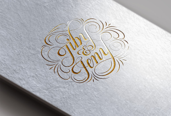 free wedding logo design