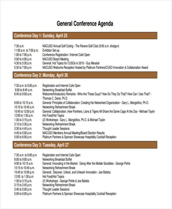 general conference agenda1