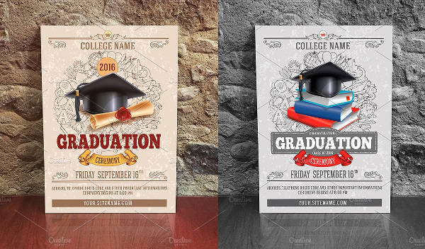-Graduation Ceremony Invitation