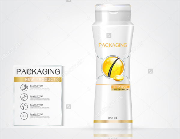 Hair Product Packaging Design