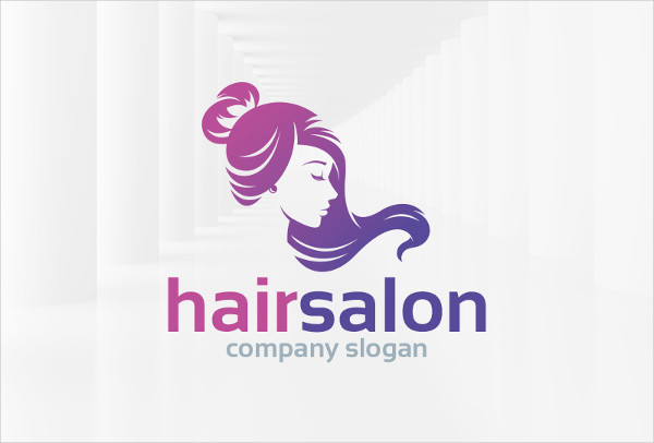 -Hair Salon Logo