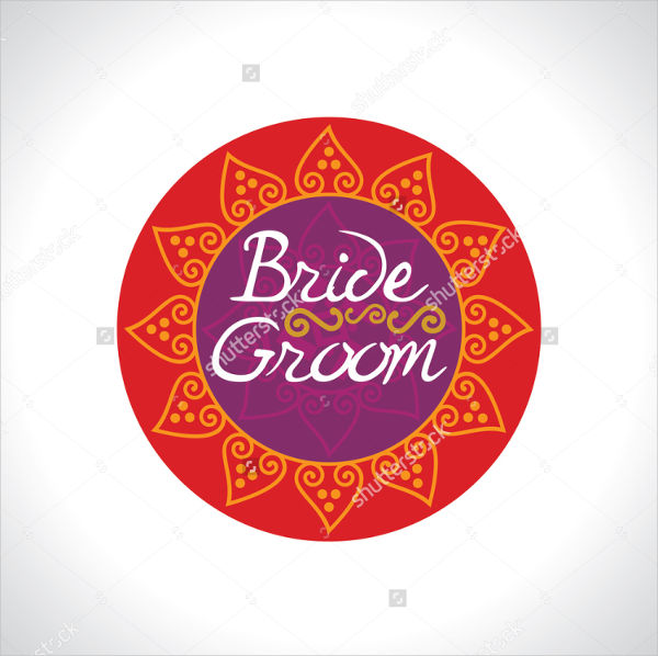 hindu wedding card logo