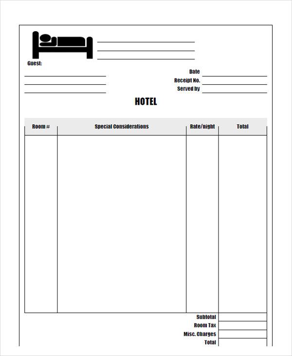 hotel invoice8
