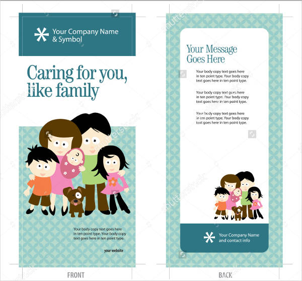 insurance advertising rack card