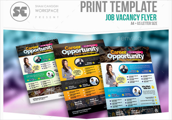 job vacancy advertisement design