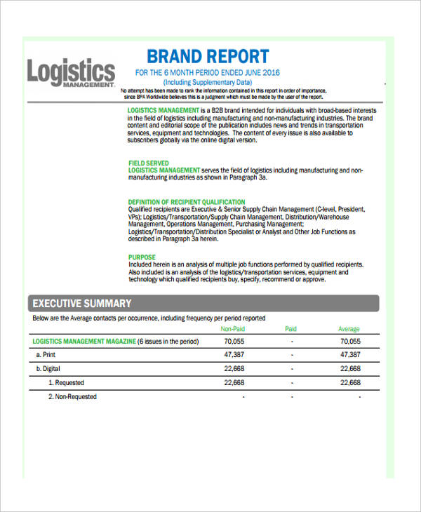 25 + Management Report Examples - PDF, Word, Apple Pages