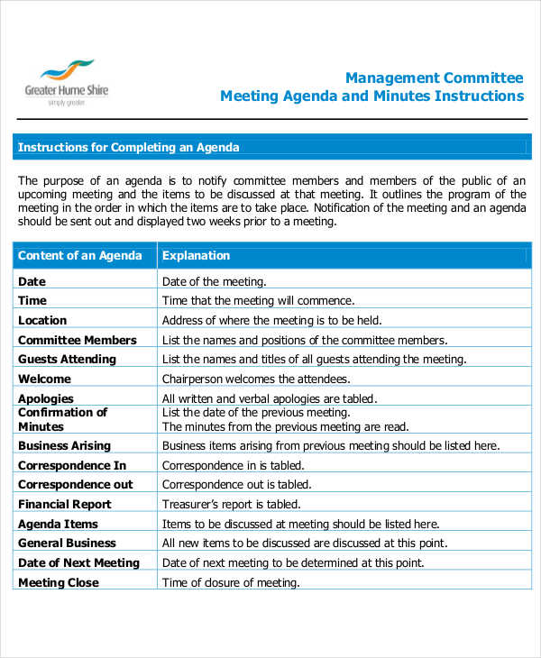 management committee
