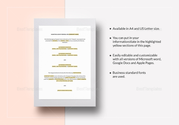 marketing agency proposal template1