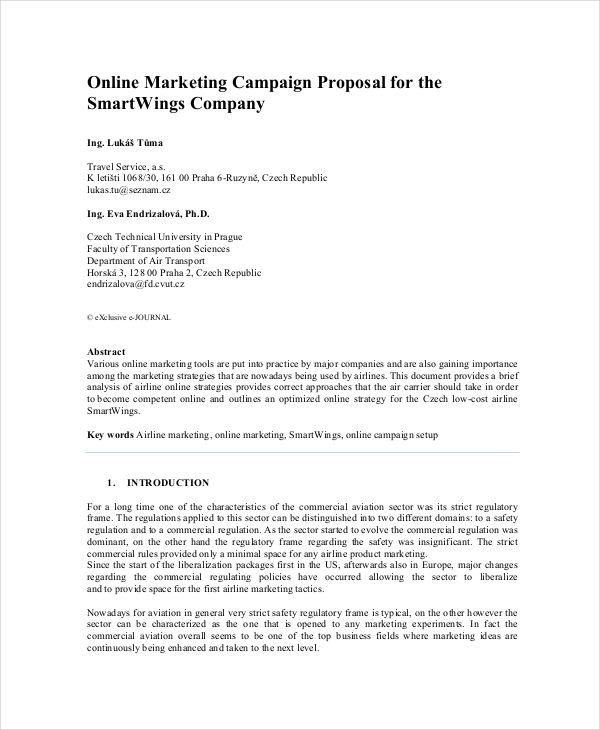 marketing campaign proposal2