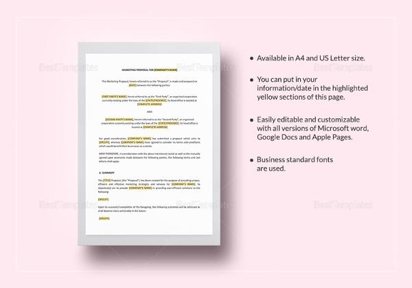 marketing proposal template1