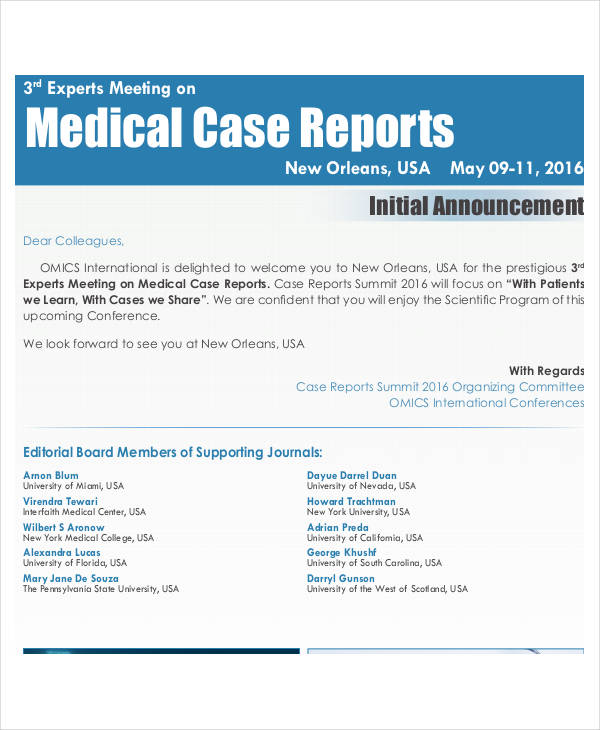 medical case report