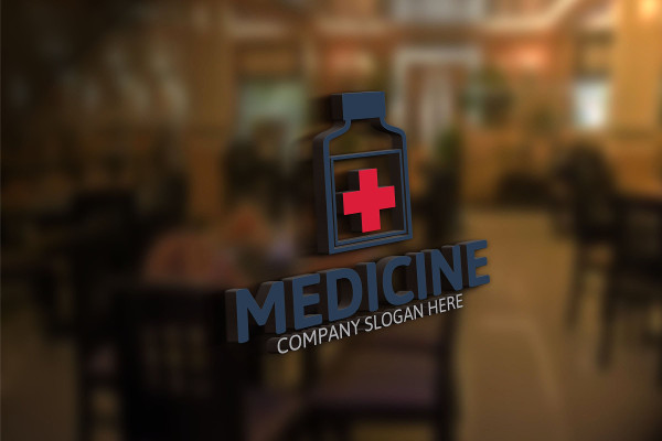 Medical Medicine Logo Design